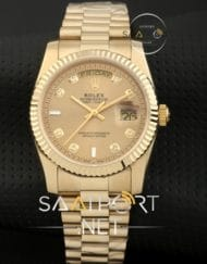 Rolex Day Date 36mm bayan saati replika rolexler