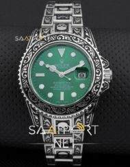 Rolex Submariner Skull Limited Edition Black Dial Vintage