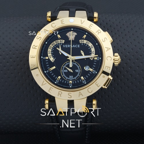 Versace Erkek Kol Saati Gold Kasa Cronometreli