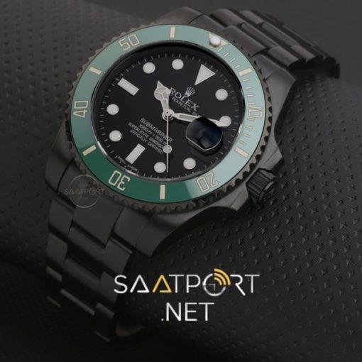 Rolex Submariner Pvd Kapmala 50.Yıl Özel Siyah Kadran Yeşil Bezel