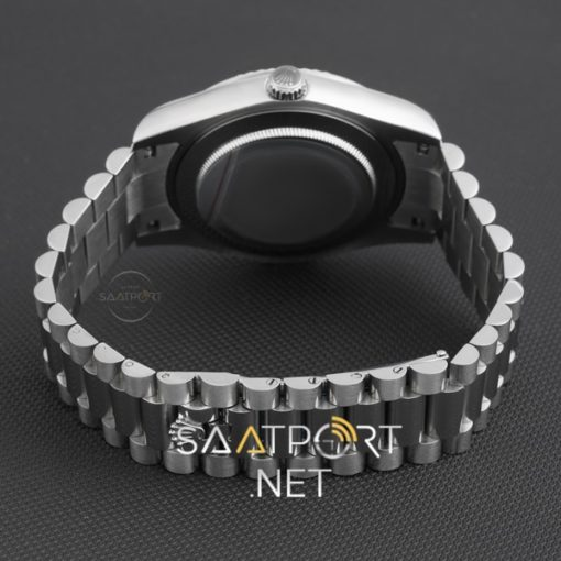 Rolex Day Date Gümüş Mavi Kadran 41 mm 2020 Yeni Model