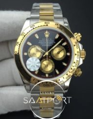 Daytona 116503 JF 11 Best Edition YellowBlack Dial on SSYG Bracelet A7750 V2