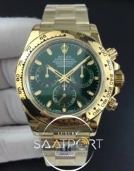Rolex Daytona 116508 ARF Best Edition 904L Case Green Dial A4130