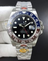 GMT Master II 126710 Real Ceramic 904L Noob Super CLON Jübile 3285 Eta