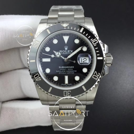 Rolex Submariner 116610 LN Black Ceramic ZZF 904L 1-1 2836 V2