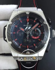 hublot Big Bang King Power F1 SSCeramic V6F 11 Best Edition Black Dial on Black Gummy Strap HUB4104
