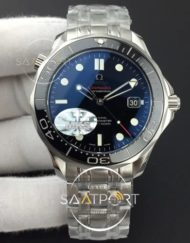 Omega Seamaster 300M Chronometer SS MKS 11 Best Edition Black Dial Black Ceramic Bezel on SS Bracelet A2824 V2
