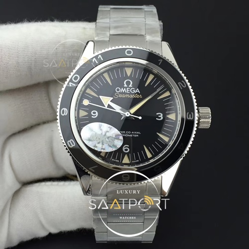 Omega Seamster 300 Spectre Limited Edition MKS 11 Best Edition on 007 SS Bracelet A8400