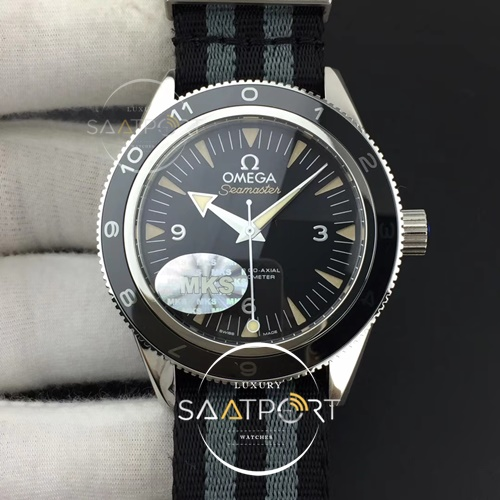 Omega Seamster 41 mm 300 Spectre Limited Edition MKS 11 Best Edition on 007 Nato Strap A8400