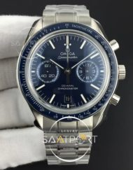 Omega Speedmaster Moonwatch Co-Axial OMF 11 Best Edition Blue Dial on SS Bracelet A9300 v2 (1)
