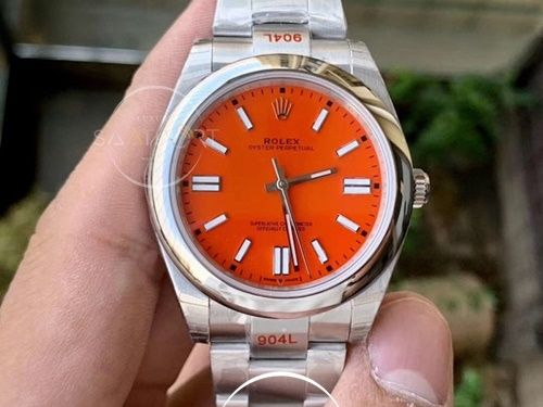 Rolex Oyster Perpetual 41 Coral Red 124300 2020