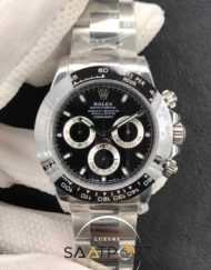 Rolex Daytona black Noob V4 4130 Super Clon swiss ceramic Bezel