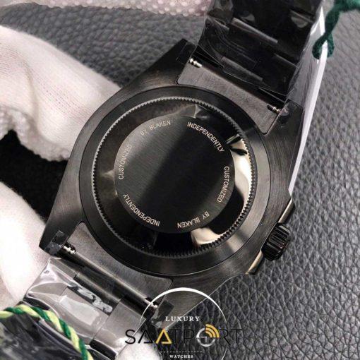 Rolex Submariner Blaken Pvd Kaplama super clon 3135 eta mekanizma