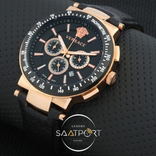 Versace Erkek Saati Seramik Bezel Kronometreli