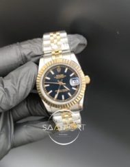 Rolex Datejust Siyah Kadran Jubile Kordon Otomatik Mekanizma