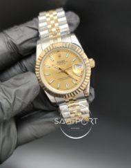 Rolex Datejust Gold Kadran Jubile Kordon Otomatik Mekanizma