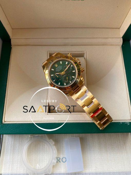 Rolex Cosmograph Daytona 116508LN Yeşil Kadran Super Clone ETA