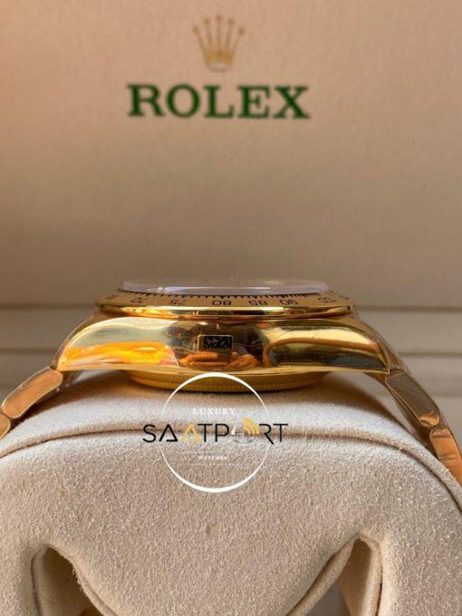 Rolex Cosmograph Daytona 116523 Siyah Kadran Gold Kasa Super Clone ETA