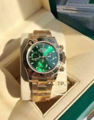 Rolex Cosmograph Daytona 116508LN Yeşil Kadran 18K Super Clone ETA