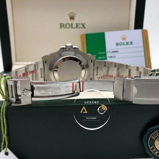 Rolex Submariner 116610LN Siyah Kadran Noob 904L Çelik Super Clone ETA